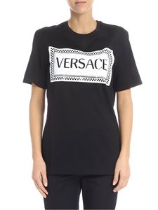 Versace - Black t-shirt with logo