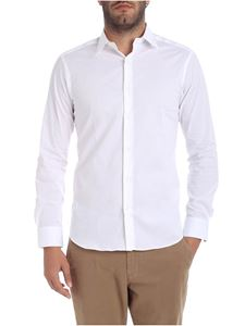 Paolo Pecora - White cotton shirt