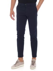 Department 5 - Blue trousers with slash pockets