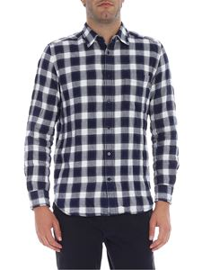Diesel - Blue and white check shirt