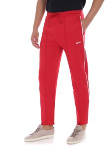 Kenzo - Red sweat pants with logo