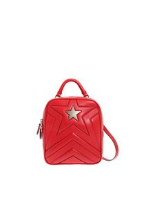"Stella McCartney - ""Stella Star"" red backpack"