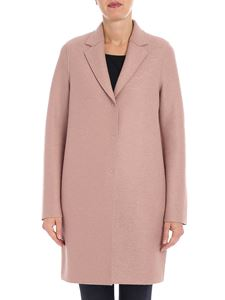 "Harris Wharf London - Pink ""Cocoon"" coat"
