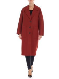 Harris Wharf London - Unlined rust colored coat
