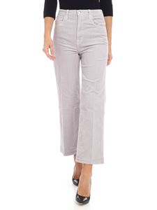 "J Brand - Ice-colored ""Joan Cop"" trousers"