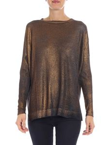 Avant Toi - Bronze-colored cashmere and silk pullover