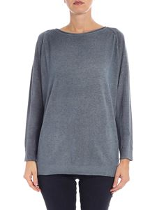 Avant Toi - Light blue cashmere pullover