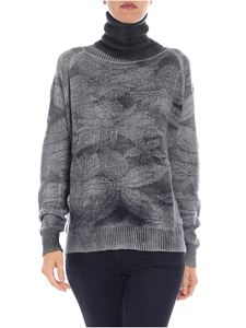 Avant Toi - Embroidered gray pullover