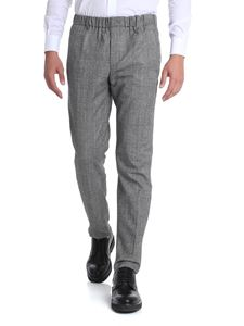 Incotex - Black and white Prince of Wales trousers