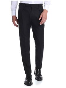 Paul Smith - Black trousers with slash pockets