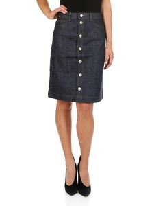 "A.P.C. - Blue ""Jupe Therese"" skirt"