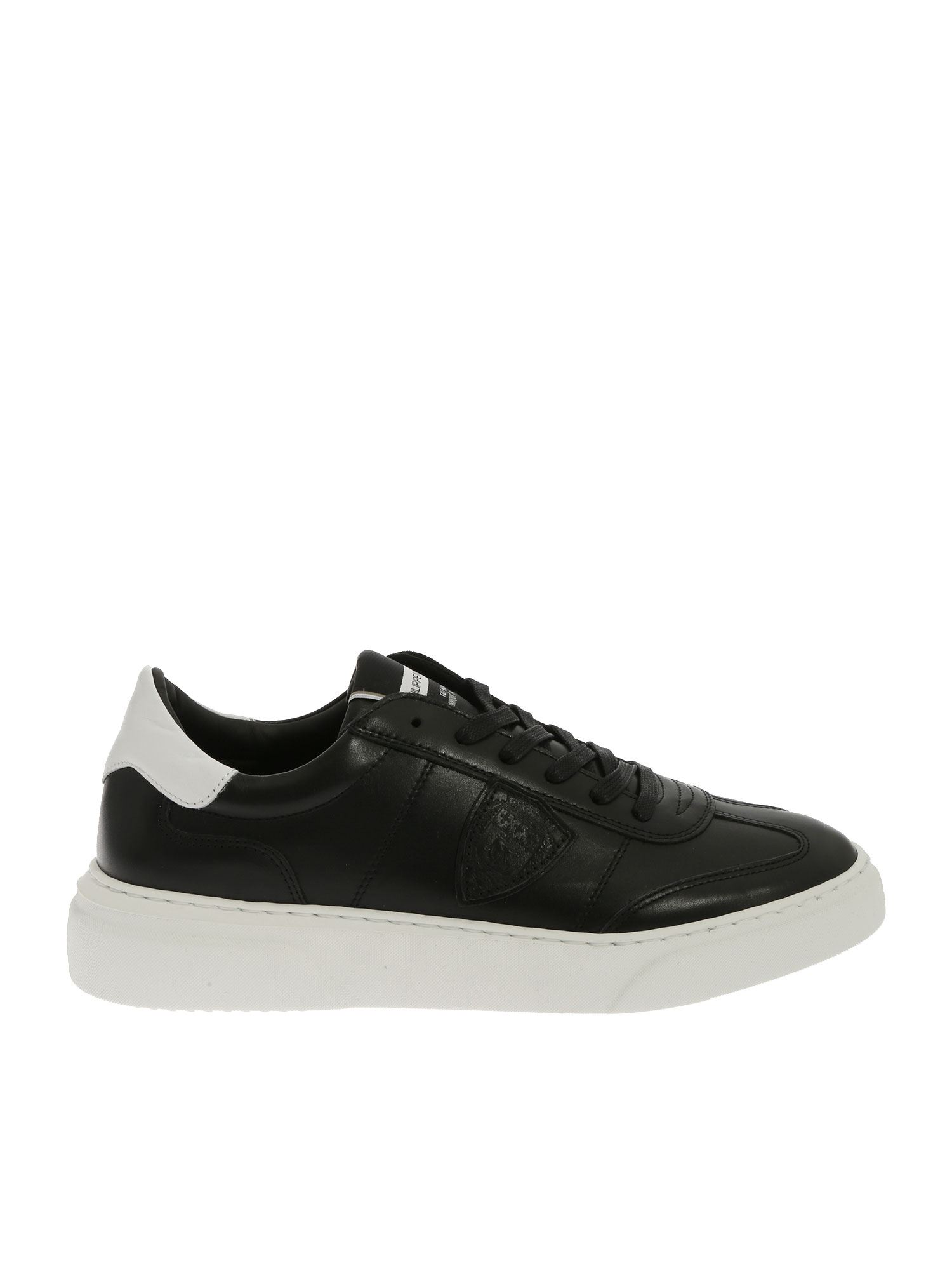 "Philippe Model ""temple L"" Black Sneakers"