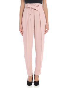 """Pinko - Powder pink """"Carion"""" trousers"""
