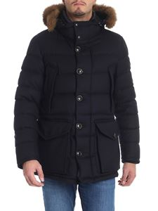 "Moncler - Blue ""Rethe"" down jacket"