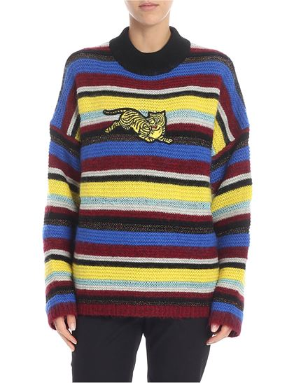 """Kenzo - Multicolor """"jumping tiger"""" sweater"""