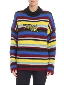 "Kenzo - Multicolor ""jumping tiger"" sweater"