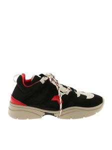 """Isabel Marant - """"Kindsay"""" black and red sneakers"""