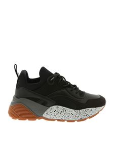 "Stella McCartney - ""Eclypse"" black Chunky sneakers"