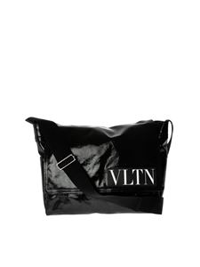 "Valentino - Black ""VLTN Messenger"" bag"