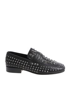 "Ash - Black ""Enigma"" shoes with studs"