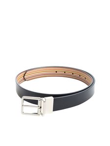 Paul Smith - Reversible multicolor striped belt