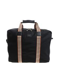 Paul Smith - Black dress bag with multicolor details (Suit Carrier)