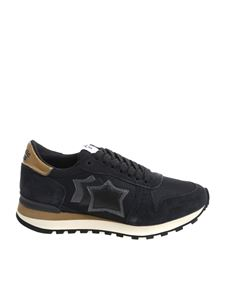 "Atlantic Stars - ""Alhena"" black sneakers"