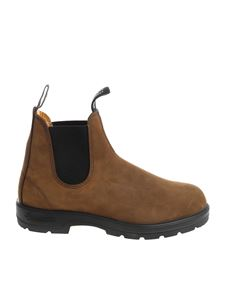 Blundstone - Brown Chelsea ankle boots