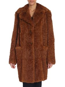 Salvatore Santoro - Brown reversible rabbit fur coat
