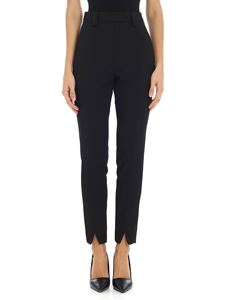 "Dondup - Black ""Marcia"" trousers"