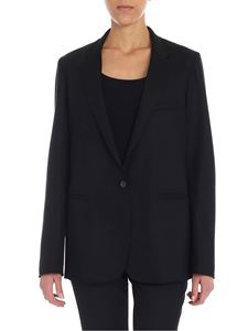 Forte Forte - Black jacket with notch lapels