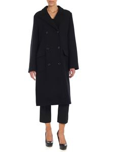 Emporio Armani - Black double-breasted coat
