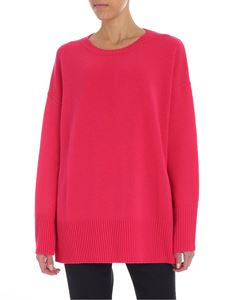 Jucca - Pullover fucsia overfit