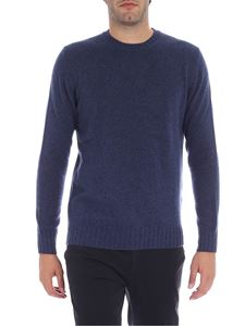 Luigi Borrelli - Blue cashmere sweater