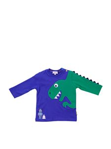 Paul Smith - Blue and green long sleeve t-shirt