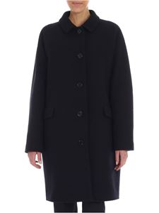 Aspesi - Black wool coat