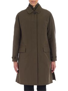 "Aspesi - Military green ""Rabarbaro"" coat"