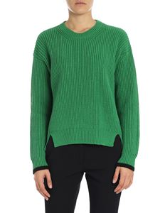 "Tela - Green ""Irma"" sweater"
