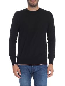 Moncler - Black sweater with logo