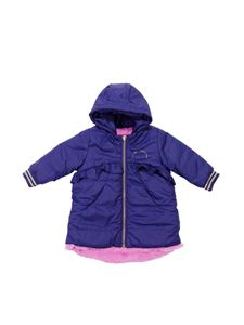 Little Marc Jacobs - Blue padded jacket with logo