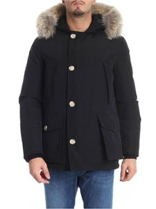 "Woolrich - ""Artic Anorak"" black down jacket"