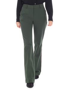 Calvin Klein - Green trousers with side bands