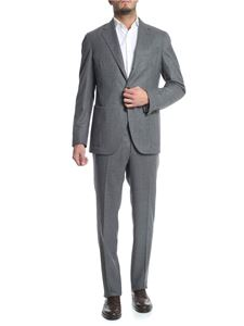 Luigi Borrelli - Grey 3-buttons single-breasted suit