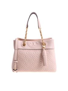 "Tory Burch - Borsa ""Fleming small tote"" rosa"
