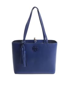 "Tory Burch - Borsa Mini ""McGraw"" blu"