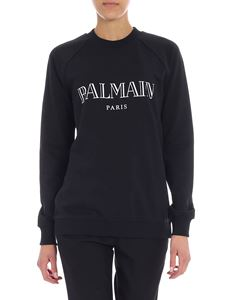 Balmain - Black sweatshirt with logo