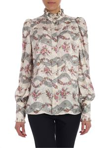 Isabel Marant - Ecru shirt with floral print
