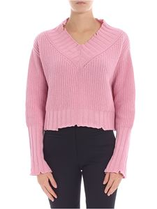 MSGM - Pink boxy pullover