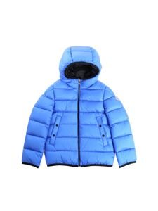"Moncler Jr - Turquoise ""Serge"" down jacket"