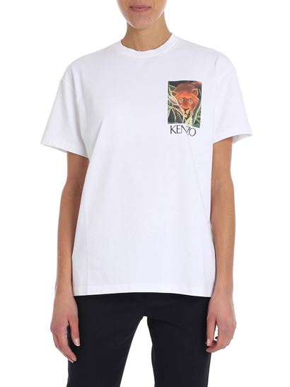 Kenzo - White t-shirt with logo